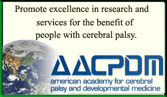 American Academy for Cerebral Palsy and Developmental Medicine Ad