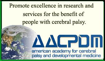 American Academy for Cerebral Palsy and Developmental Medicine Ad