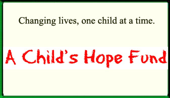 A Child's Hope Fund Ad