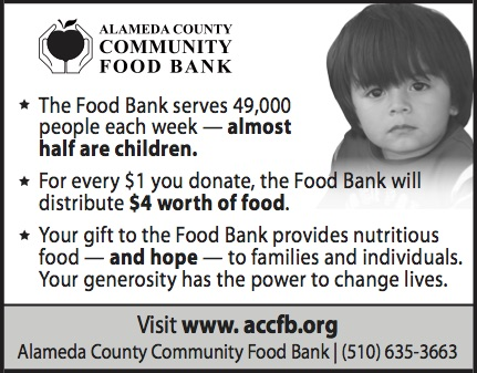 Alameda County Food Bank ad