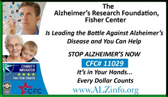 Alzheimer's Research Foundation, Fisher Center Ad