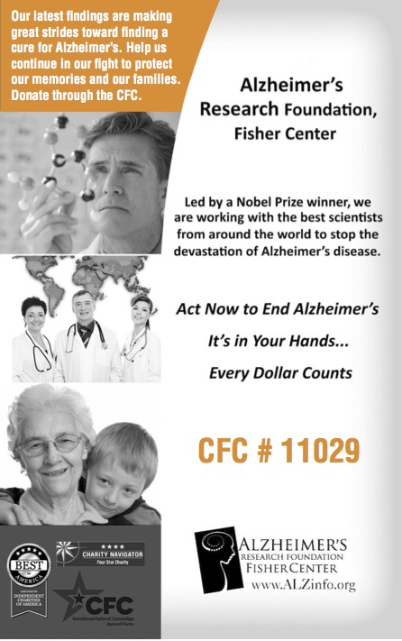 Alzeimers research foundation ad