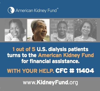 Amer Kidney Foundation ad