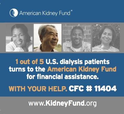 Amer Kidney Foundation ad