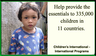 Children International - International Programs Ad
