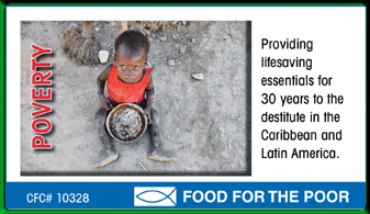 Food For The Poor Ad