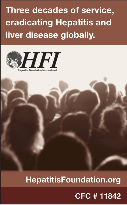 Hepatitis Foundation ad