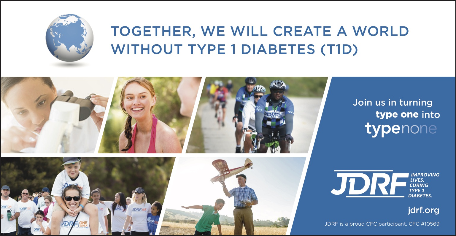 JDRF Ad with Photos