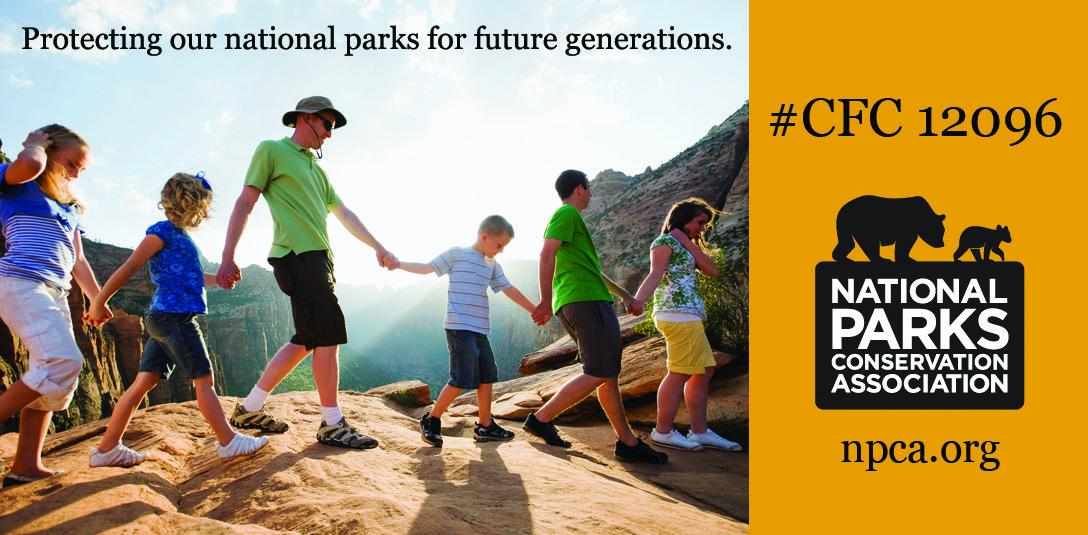 National Parks Conservation Association ad