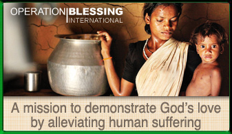 Operation Blessing International Ad
