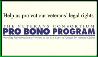 Veterans Consortium Pro Bono Program Ad
