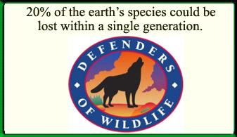 Defenders of Wildlife ad