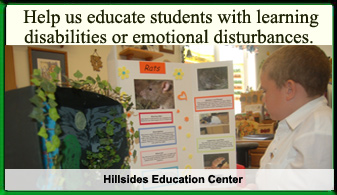 Hillsides Education Center Ad