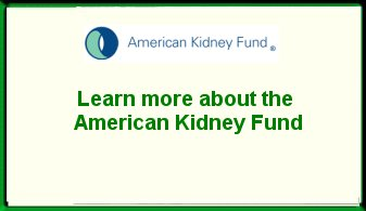 American Kidney Fund Ad
