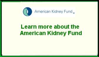 American Kidney Fund Ad